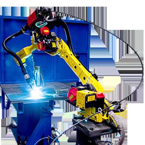 célula robotizada de soldagem3
